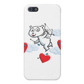 Polar Bear Valentine Cover For iPhone SE/5/5s