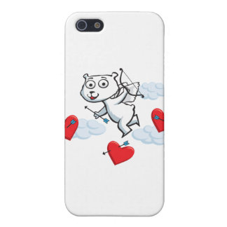 Polar Bear Valentine Covers For iPhone 5
