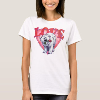 Polar Bear Valentine's Day T-Shirt