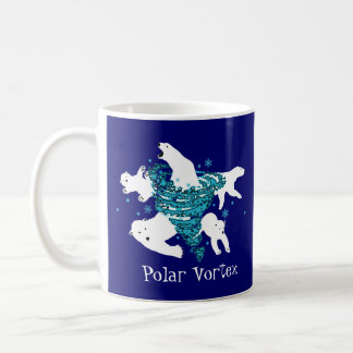 Polar Bear Vortex Coffee Mug