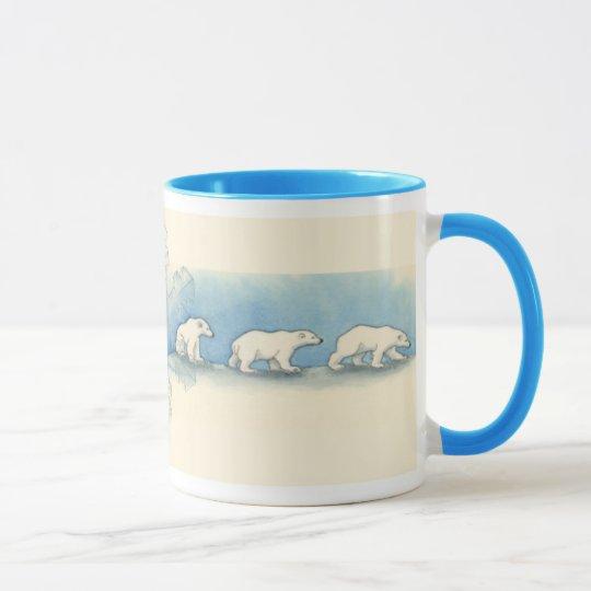 Polar Bear Walk Mug