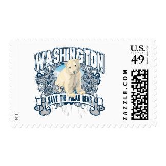 Polar Bear Washington Postage