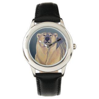 Polar Bear Watch Kid's Wildlife Bear Wrist Watch