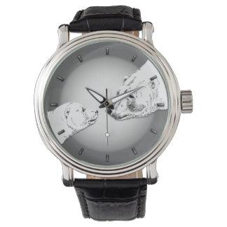 Polar Bear Watch Wildlife Art Bear Wrist Watch