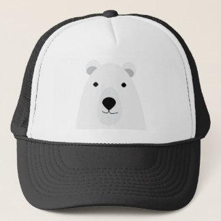 Polar Bear Waving Trucker Hat
