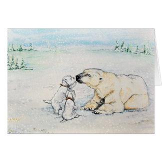 Polar Bear Westies Greeting Cards