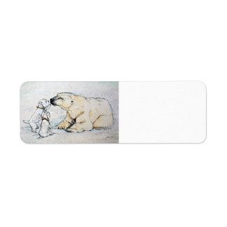 Polar Bear Westies Label