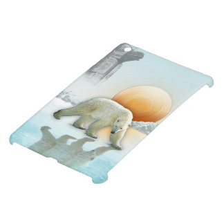 Polar Bear Wildlife-lover Arctic Animal Art iPad Mini Case