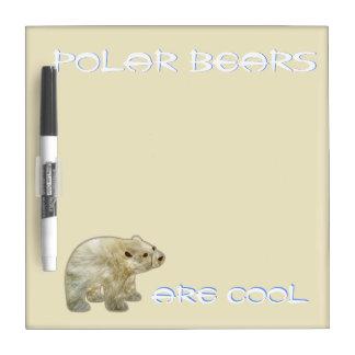 Polar Bear Wipe Off Board