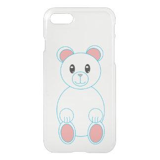 Polar Bear with Blue Outline iPhone 8/7 Case