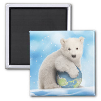 Polar Bear World Magnet