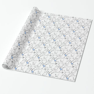 Polar Bear Wrapping Paper Bear Cubs Wrapping Paper