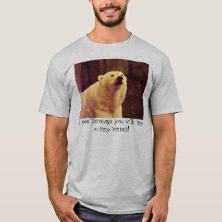 Polar bear x-ray vision shirt