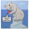 Polar Bearings Meltdown Napkins