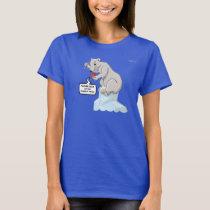 Polar Bearings Meltdown T Shirt