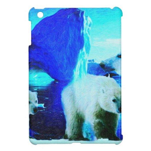 polar bears 2 iPad mini cases