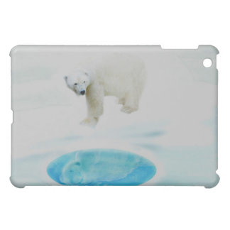 Polar bears alone iPad mini cover
