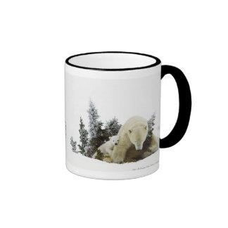 Polar Bears At Wapusk National Park Mugs