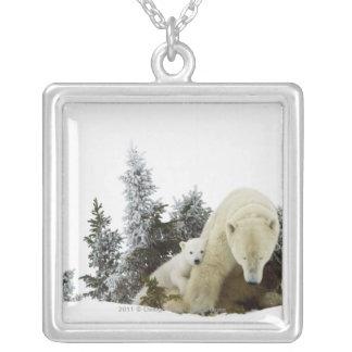 Polar Bears At Wapusk National Park Custom Jewelry