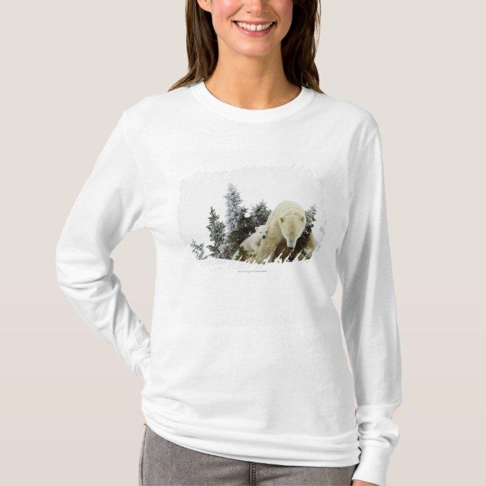 Polar Bears At Wapusk National Park T-Shirt