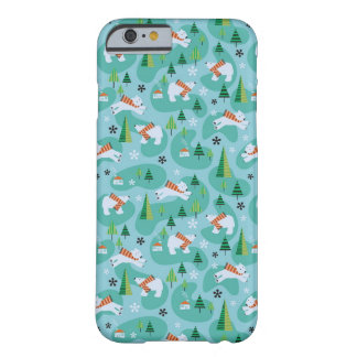 Polar Bears Barely There iPhone 6 Case