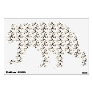 polar bears bear wall sticker