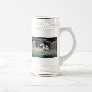 Polar Bears Beer Stein