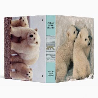 Polar bears binder