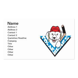 Polar Bears Business Card Template