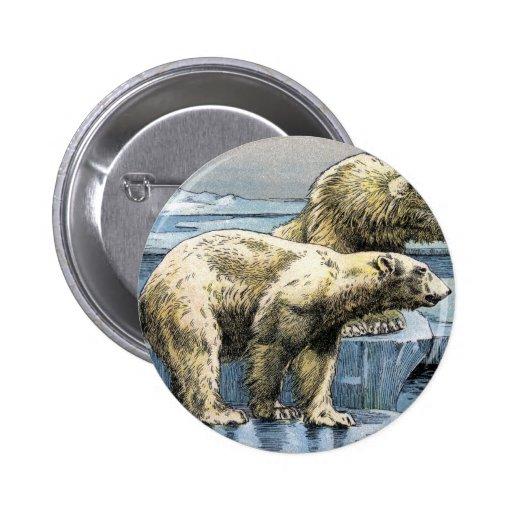 Polar Bears Pinback Button