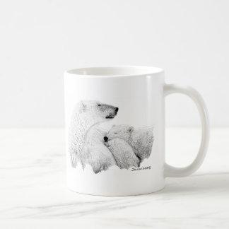 Polar Bears Classic White Coffee Mug