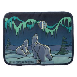 Polar Bears Day-Timer Personalized Bear Art Case Planner