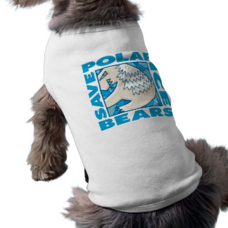 Polar Bears Dog T-shirt