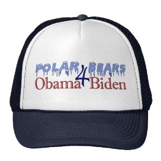Polar Bears for Obama Biden 2008 Trucker Hat