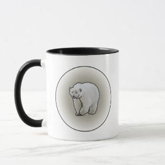 Polar Bears in a Blizzard Mug