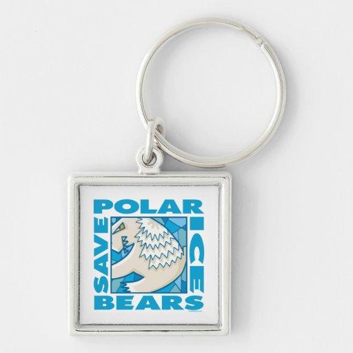 Polar Bears Key Chain