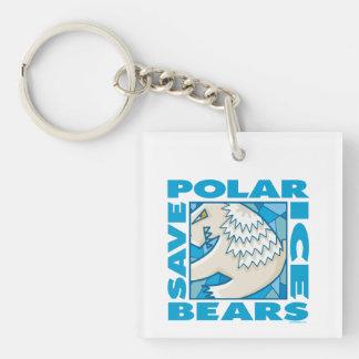 Polar Bears Keychain
