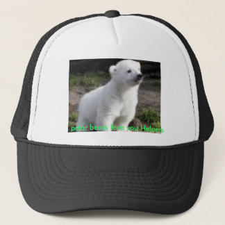 polar bears love you Helpers Trucker Hat