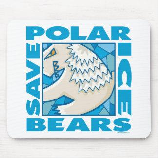 Polar Bears Mouse Pad