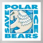 Polar Bears Print