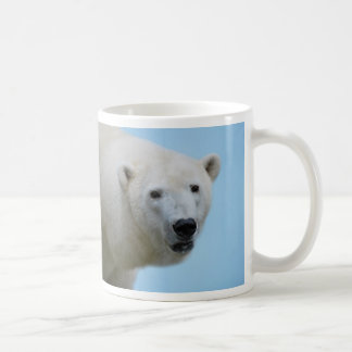 Polar bears profile coffee mug