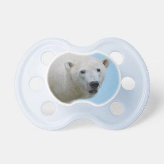 Polar bears profile pacifier