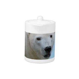 Polar bears profile teapot