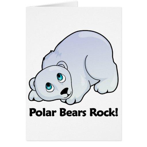 Polar Bears Rock! Card