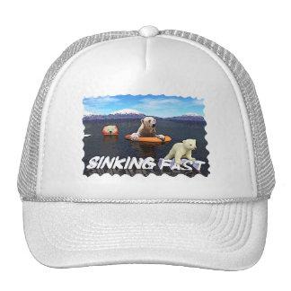 Polar Bears - Sinking Fast Trucker Hat