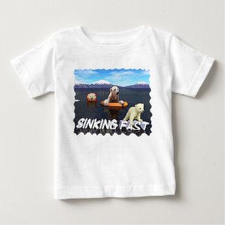 Polar Bears - Sinking Fast Infant T-shirt