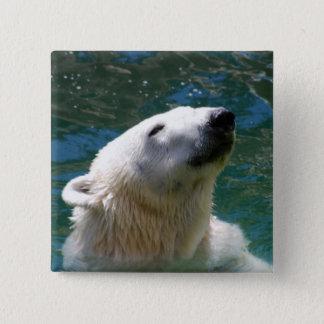 Polar bears smile button