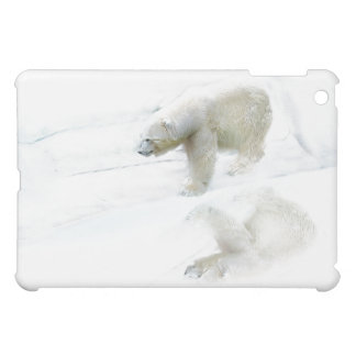 Polar bears walk to freedom iPad mini cover