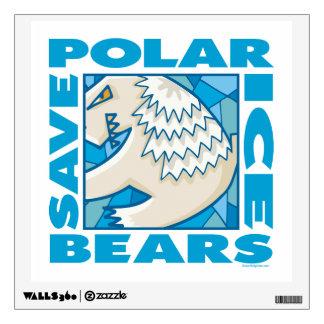 Polar Bears Wall Sticker