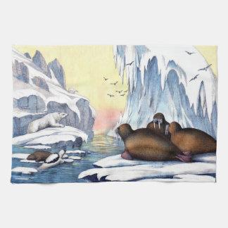 Polar Bears, Walrus, And Seals Towel